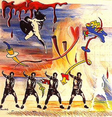 Carlos Betancourt, Fracturism Una Imagen del Resultado, 1993, 1993