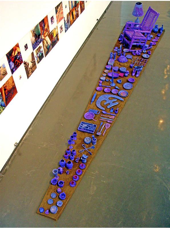 Carlos Betancourt, Largo Museum Exhibit, 2009, 2009