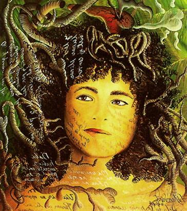 Carlos Betancourt, Portrait of Liz Balmaseda, 1995, 1995