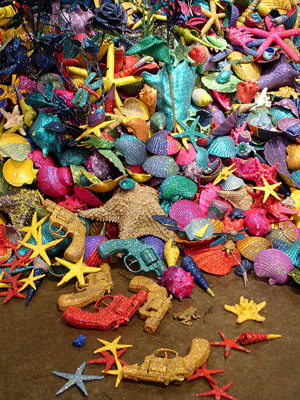 Carlos Betancourt, Re-collections Seashells, 2005, 2005