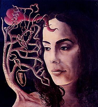 Carlos Betancourt, Portrait of Ana Mendieta, 1995, 1995