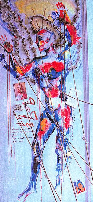Carlos Betancourt, Invite Imperfect Utopia, 1994