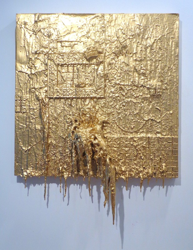 Carlos Betancourt, Wall Assemblage Of Things Past IV, for Alberto 2012, 2012