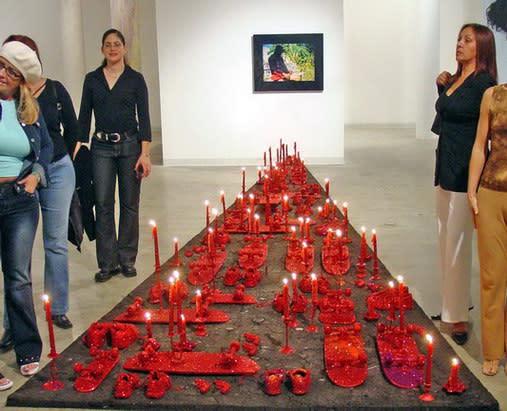 Carlos Betancourt, Interventions in Wynwood Site Specific Installation, 2003, 2003