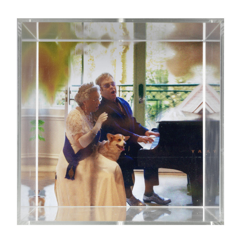 <span class=%22title%22>Sir Elton and The Queen<span class=%22title_comma%22>, </span></span><span class=%22year%22>2018</span>