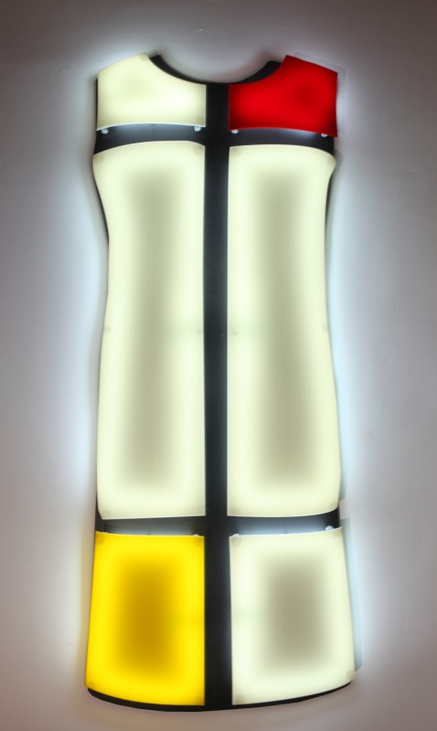 Nicolas Saint Grégoire, Mondrian Dress 2, 2009