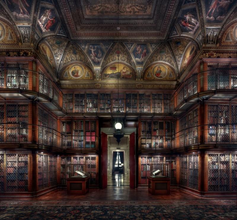 Christian Voigt, Morgan Library III, 2015