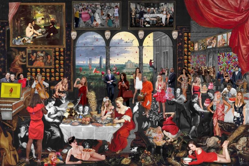 Lluís Barba, Taste. Jan Brueghel & Peter Paul Rubens, 2016