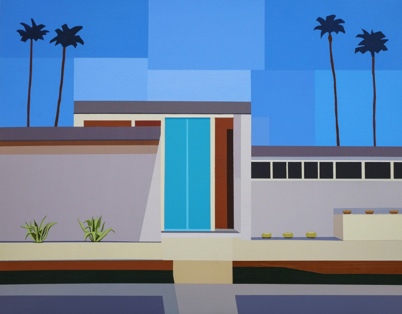 Andy Burgess, Palm Springs House III, 2017