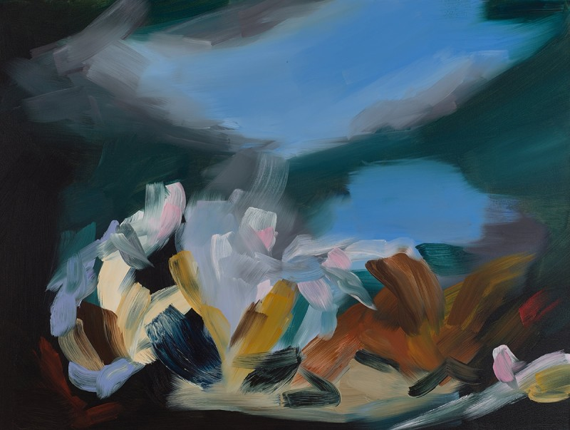 Elise Ansel, After Fools Rush In II, 2016
