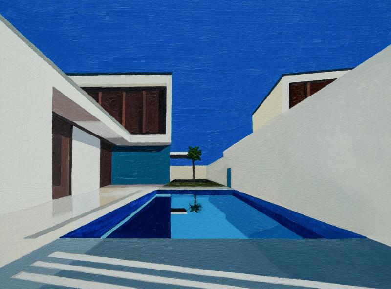 Andy Burgess, Mediterranean Modern II, 2016