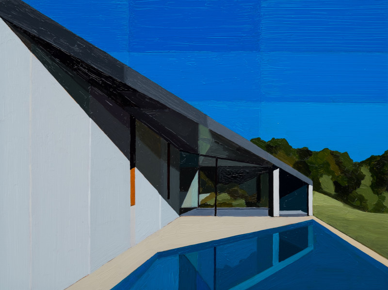 Andy Burgess, House at Hanging Rock, 2016