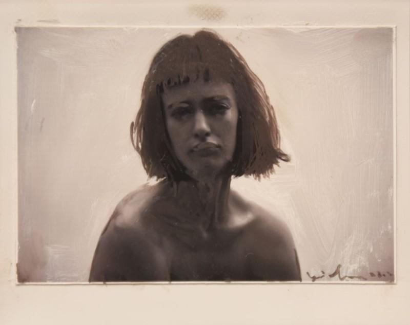 Yigal Ozeri, Untitled; Olya III Polaroid, 2015