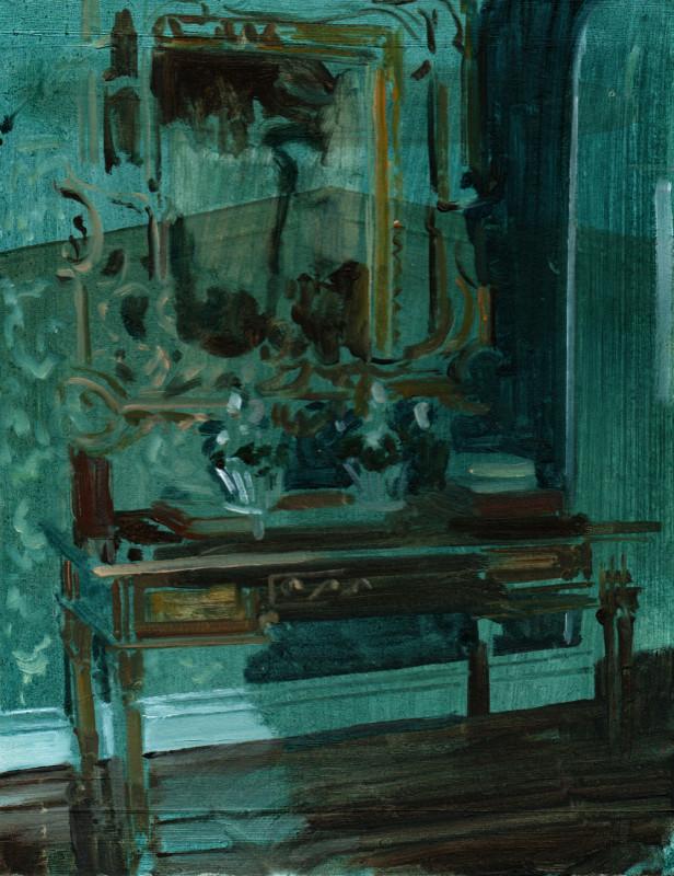 Eleanor Watson, Mirror in the Shade, 2018