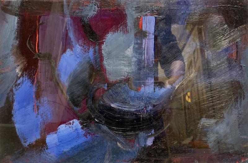 Tuëma Pattie, The Blue Teapot, 2005