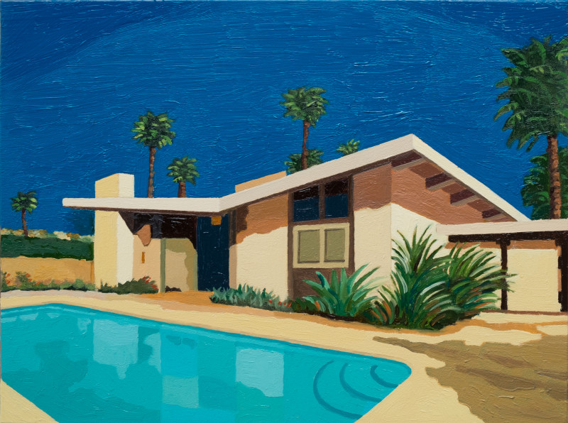 Andy Burgess, Palm Springs Ranch House II, 2016