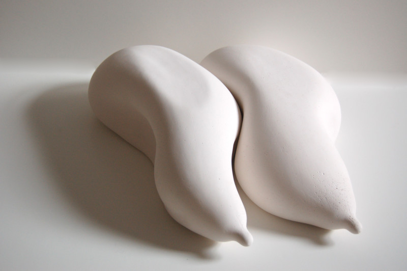Gail Olding Formate no. 1, 2014 Plaster and acrylic paint lacquer 35 x 45 cm