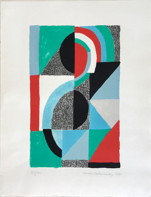 Sonia Delaunay, Oriflamme, 1967