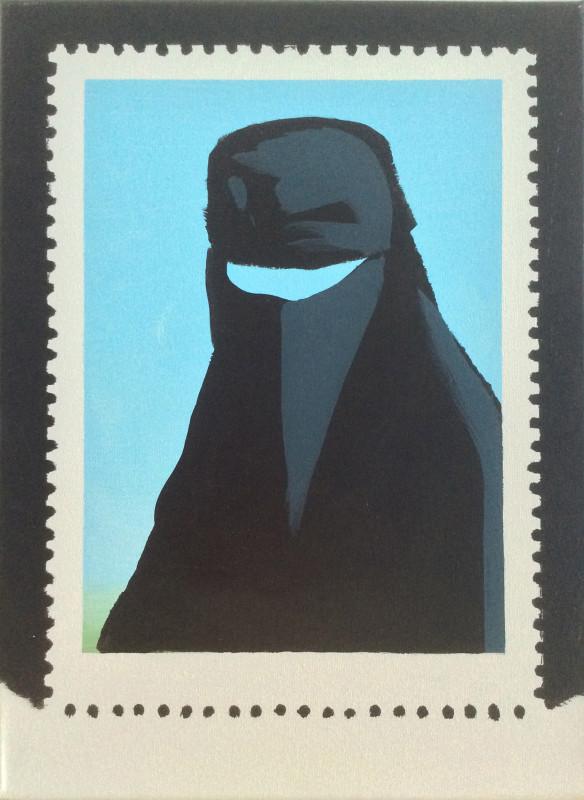 Darren Coffield, Stamp III, 2007