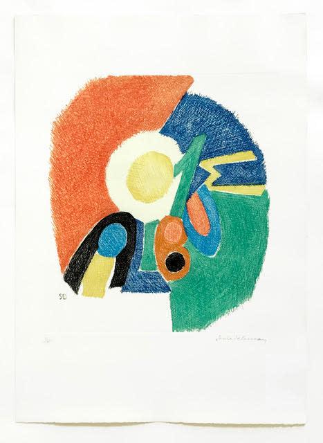 Sonia Delaunay, Gravure II, 1966