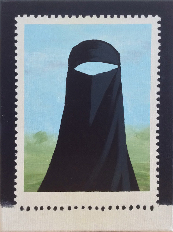 Darren Coffield, Stamp V, 2007