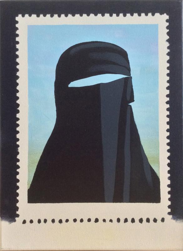 Darren Coffield, Stamp II, 2007