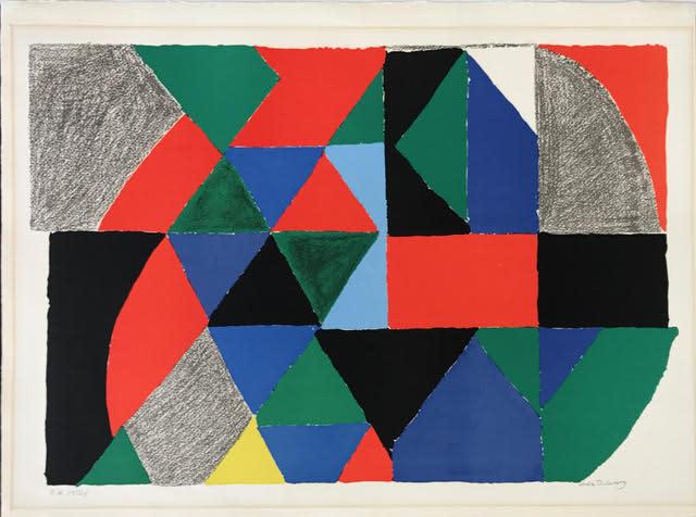 Sonia Delaunay, Polyphonie, 1970