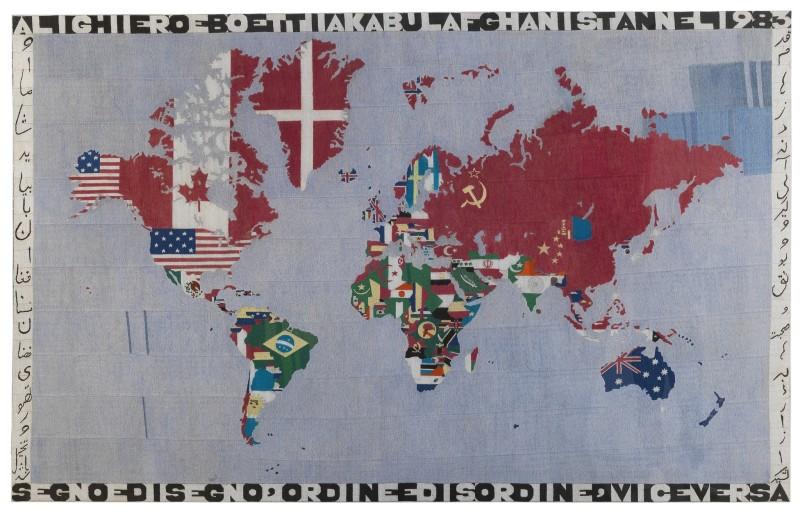 Alighiero Boetti, Mappa, 1983
