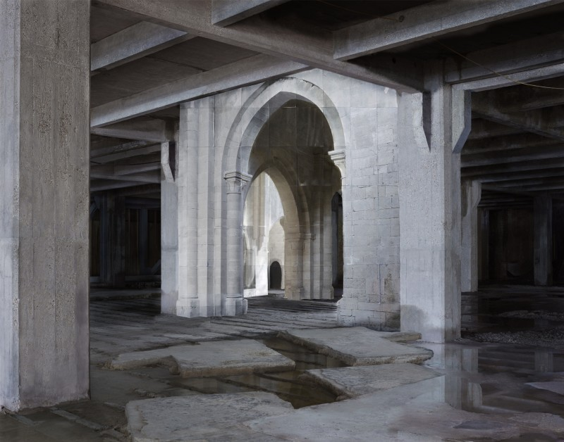 Noémie Goudal, In Search of the First Line I, 2014