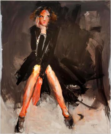 Dean Williams, Woman in Black, 2017