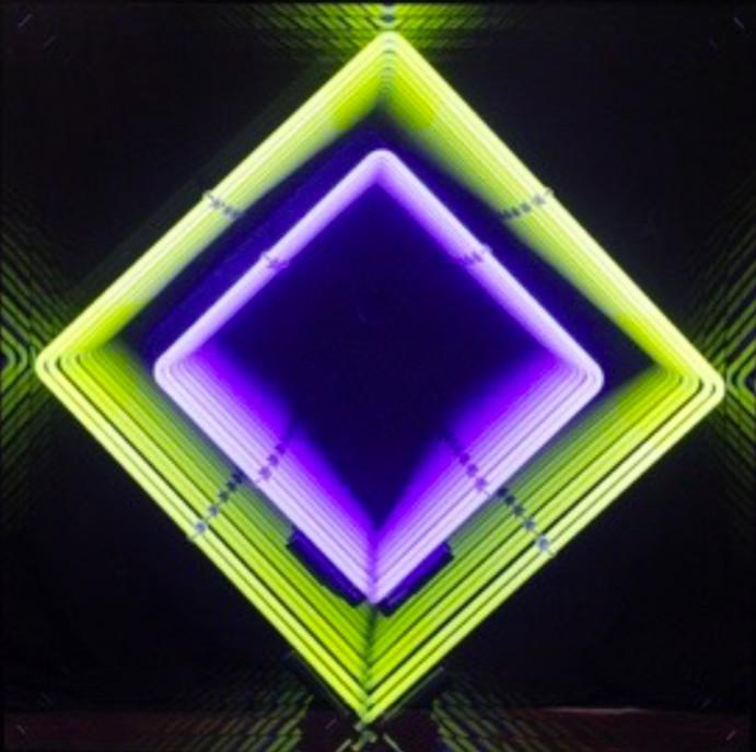 Emmanuelle Rybojad, Diamond Yellow/Purple, 2018