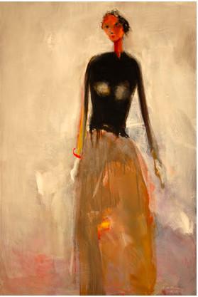 Dean Williams, Woman in Long Dress, 2017