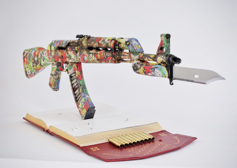Bran Symondson, The Branded AK Is Mightier Than The Sword, 2014