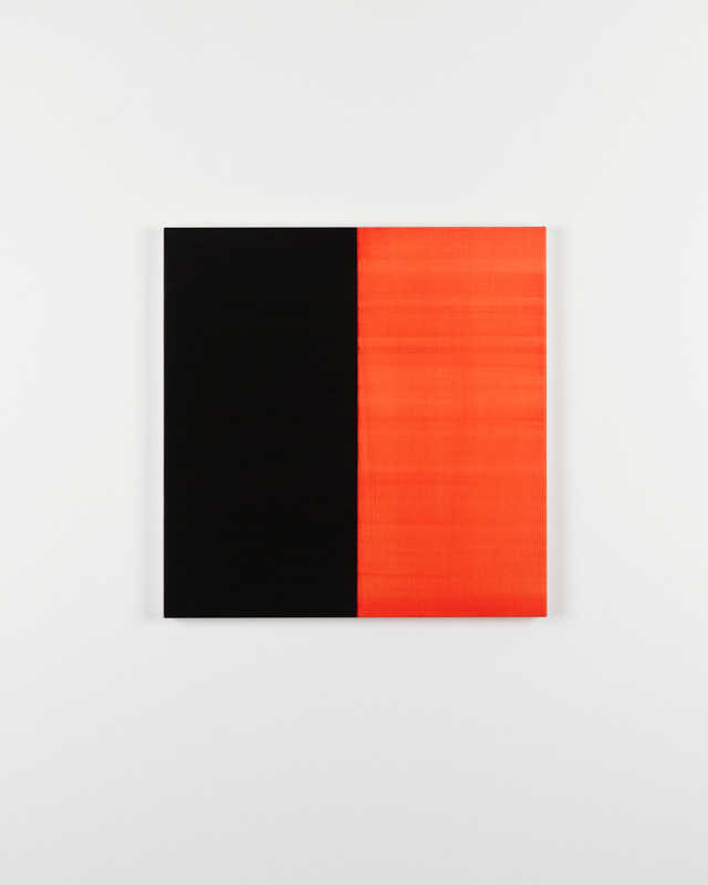 CALLUM INNES, Untitled No. 1 2016 Lamp Black, 2016