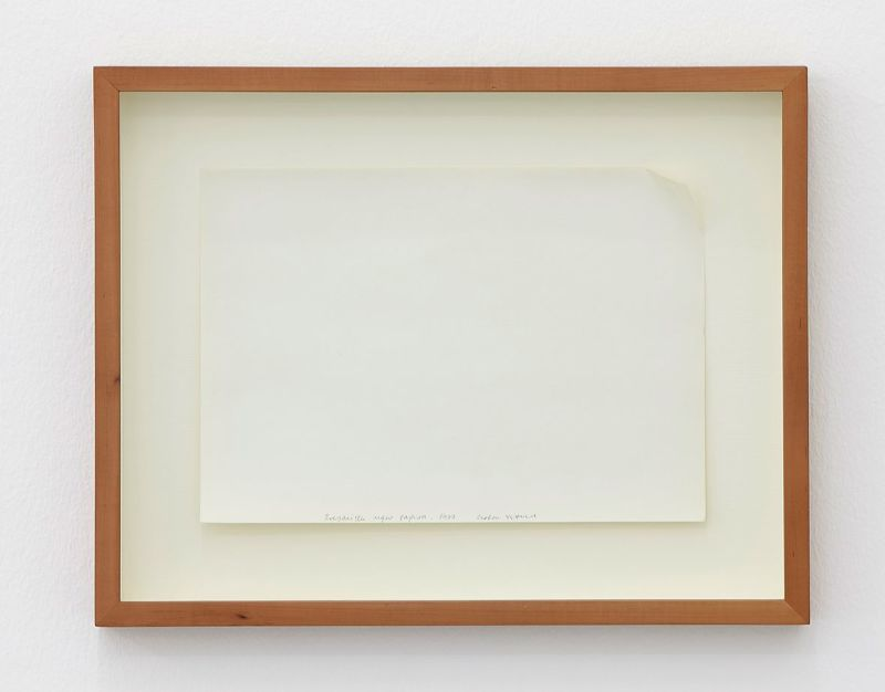 Goran Petercol, Dog Eared piece of paper, 1977