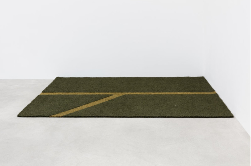 KARIN SANDER, Penalty area, cut-out, 2018