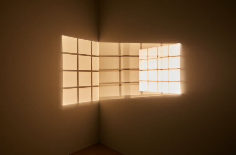 ÓLAFUR ELÍASSON, Triple window, 1999