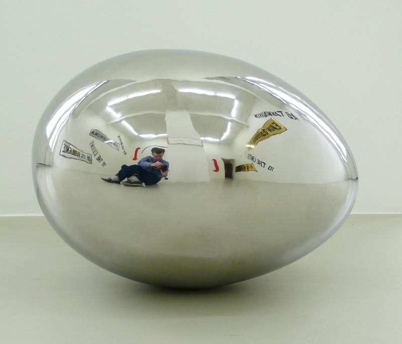 SIGURÐUR GUÐMUNDSSON, Untitled (egg), 2009