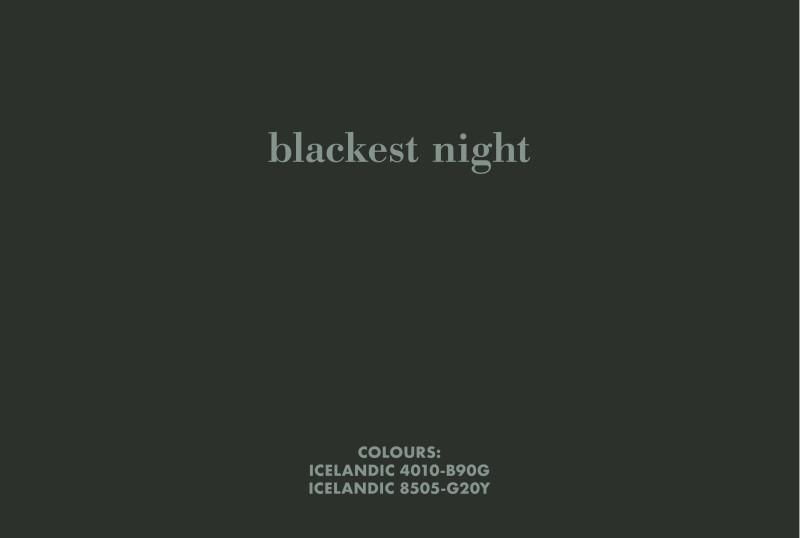 BIRGIR ANDRÉSSON, Blackest night, 2006