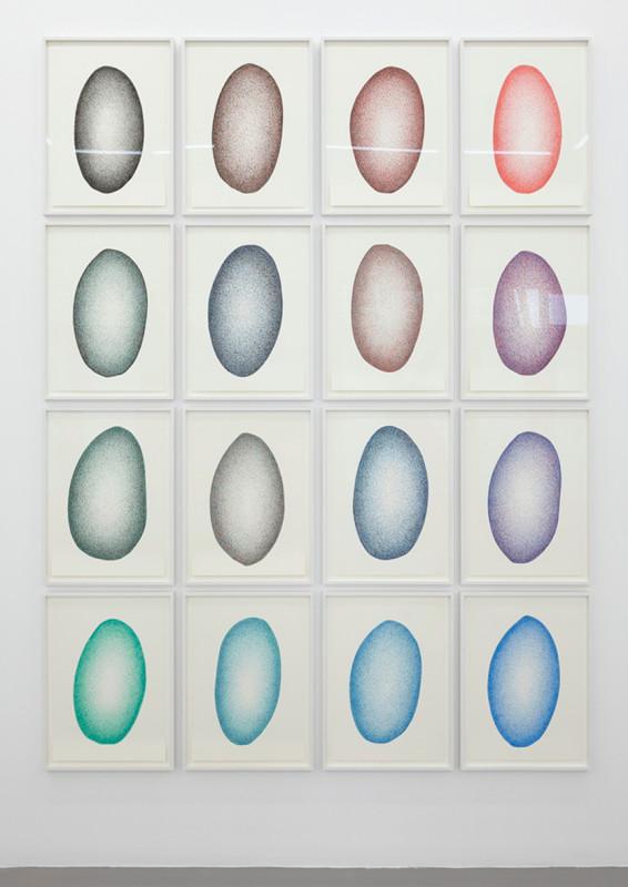 IGNACIO URIARTE, Amorphous Transition Matrix, 2013-2014