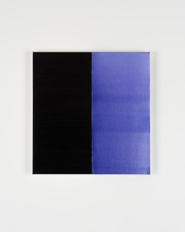 CALLUM INNES, Untitled Lamp Black No 3, 2019