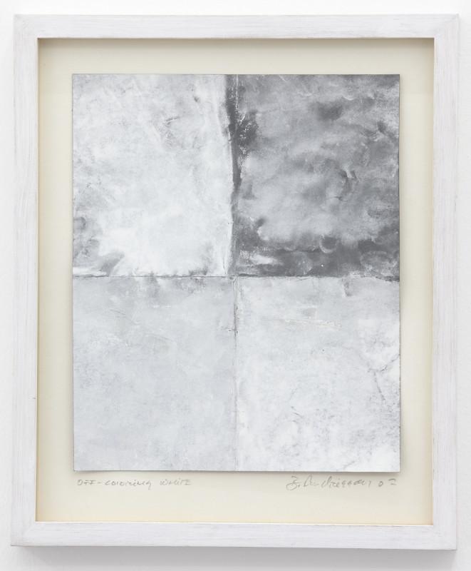 BIRGIR ANDRÉSSON, Off-colouring White, 2002
