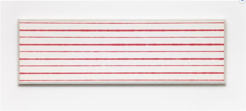 KRISTJÁN GUÐMUNDSSON, Faster and Slower Lines No. 2, 1975