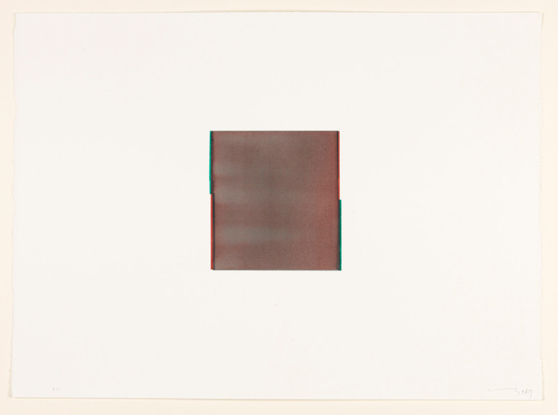 CALLUM INNES, Perylene Maroon / Phthalo Green (no. 20.), 2013