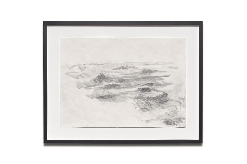 RAGNAR KJARTANSSON, Raging Pornographic Sea (drawings), 2014
