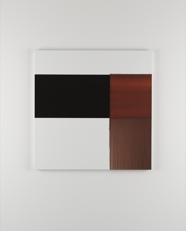 CALLUM INNES, Exposed Painting Crimson Lake, 2014