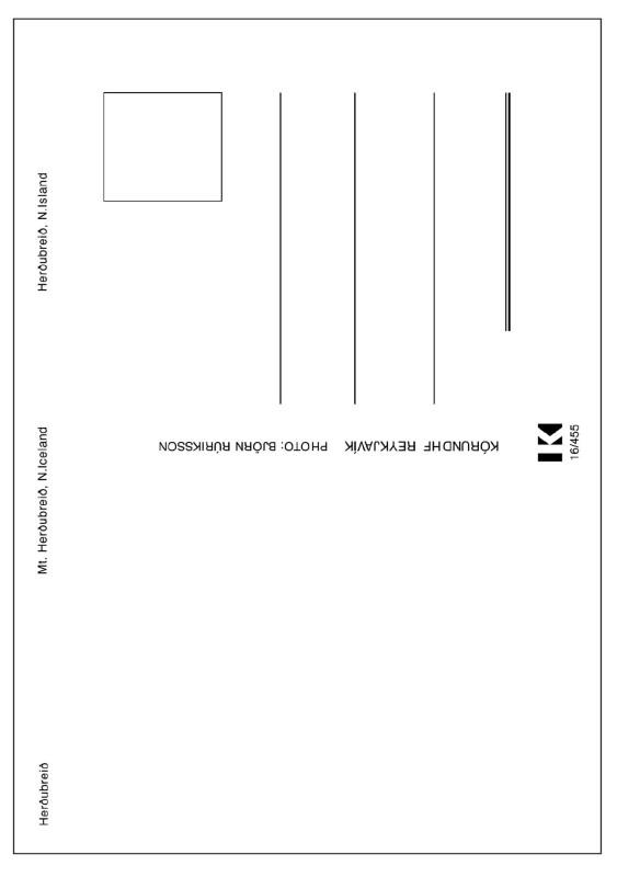 KRISTJÁN GUÐMUNDSSON, Tourist Poem, 1996 - 2014