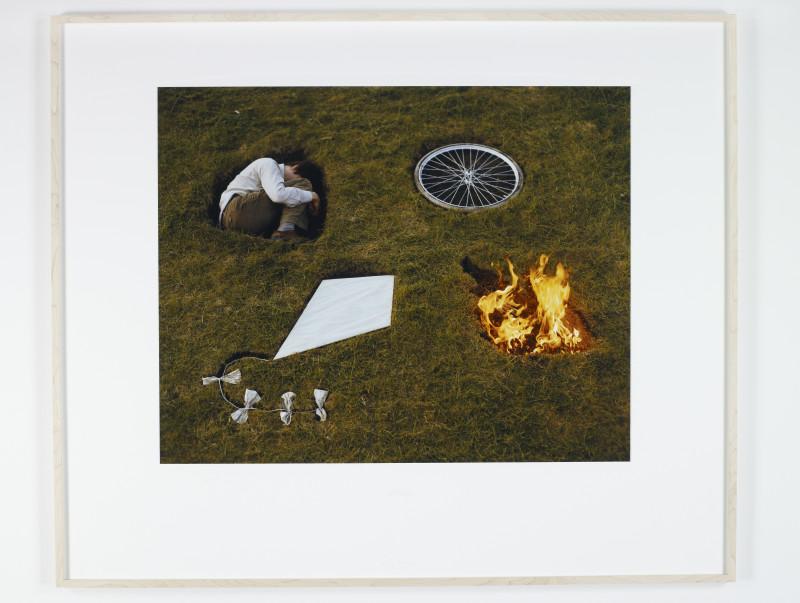 SIGURÐUR GUÐMUNDSSON, Collage, 1979