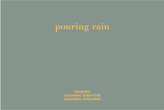 BIRGIR ANDRÉSSON, Pouring rain, 2006
