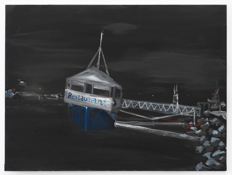 RAGNAR KJARTANSSON, Dark Days - Miðbakki (Reykjavik Harbour), 2011